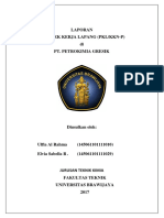 Laporan PKL Pabrik II B Departemen PPE