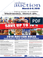 Cadillac News Online Auction 2019