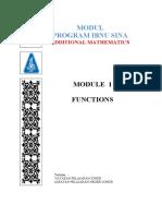Module 1 - Functions