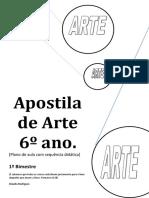 Apostila de Arte 6 Ano 1 Bimestre