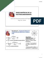 Bases Biofisicas ECG