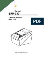 Manual Srp-330 User English Rev 1 06