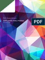 5G Spectrum Positions