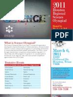 Science Olympiad Flyer