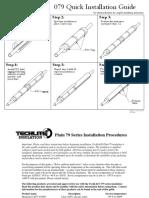079 Installation Procedures