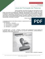 Materialdeapoioextensivo Portugues Exercicios Estrutura Formacao de Palavras b64b878aff96139950907286388f73d68f45c9afcb3f2861179f54a327853aac