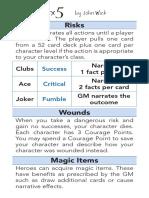 3x5 Card Game