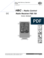 Radio Receiver FSE 735