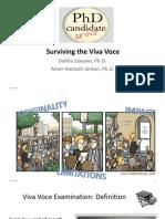 Preparing for the Viva Voce