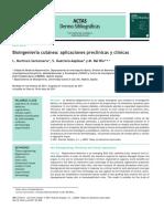 Actas Dermo-Sifiliográficas (Spanish Edition) Volume 103 Issue 1 2012 [Doi 10.1016%2Fj.ad.2011.03.006] L. Martínez-Santamaría; S. Guerrero-Aspizua; M. Del Río -- Bioingeniería Cutánea- Aplicaciones Pr