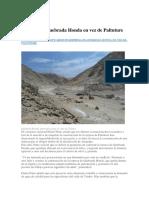 1 Agua Almacenada en Siete Represas Aseguran Campaña Agrícola Del 2019