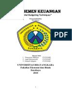 Manajemen Keuangan Vinsen BAB Capital Budgeting Techniques (Pertemuan 10).pdf.docx