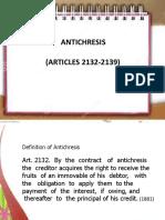anti chresis