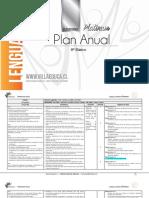 Planificacion Anual - LENGUA Y LITERATURA - 8Basico - P (1)