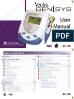 User Manual - 2784 Vectra Genisys Laser