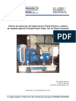 Informe Planta Electrica