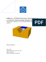 Influence of Fluid Structure Interaction on a Concrete Dam during.pdf