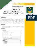 monitoramento de lubrificantes