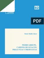 Mollá, D., 2017, Pedro Arrupe carisma de Ignacio.pdf