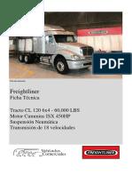 Ficha Técnica Freightliner