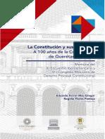 La constitucion y sus garantias, a 100 años de la constitucion de Queretaro.pdf