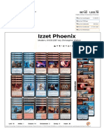 Izzet Phoenix by Christopher Walton Visual Deck View