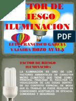 diapositivas factor de riesgo de iluminación