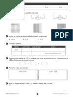 Tercero Sm Matemáticas Evaluación Tema 7