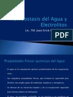 Homeostasis Del Agua y Electrolitos