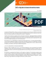 Boletin14_2018 the Internet of Things (IoT) El Big Data Al Alcance