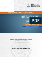 4. Historia de México I