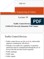 Lecture 10 Traffic Control Devices