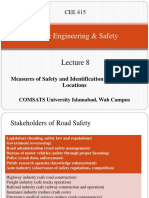 Lecture 8 Measures of Safety and Identification of Hazardous Locations