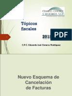 Curso de Tópicos Fiscales Diconsa