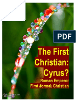 03.07.2019 2nd-Edition, Is Cyrus the First Christian? by Benjamin Gal-Or