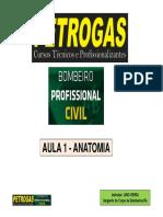 APOSTILA DO CURSO DE FORMAÇÃO DE BOMBEIRO CIVIL PROFISSIONAIS - ANATOMIA