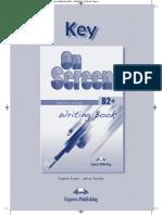 On Screen B2+ New Writing Book key.pdf