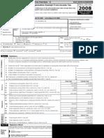Waterbury PAL 2008 Tax Report