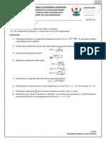 Examen Global Cálculo Dif