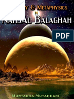 Theology N Metaphysics in Nahjal Balaghah