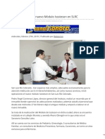 27-02-2019 - Inicia operaciones nuevo Módulo Isssteson en SLRC- Canalsonora.com