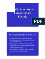 Optimizacion de Consultas Oracle