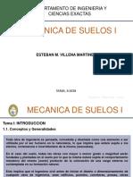 Mecanica de Suelo I Tema I