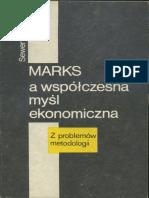 Marks a Współczesna Myśl Ekonomiczna