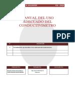 3-Manual Del Uso Adecuado Del Conductivimetro
