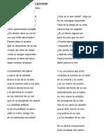 Cantores Que Reflexionan (Violeta Parra - Chile)
