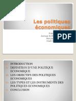 Les politiques économiques présentation.pptx
