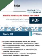 Aula 3 - História da Criança no Mundo e no Brasil