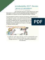 COURS 01 - Échanger Des Opinions - Texte Expositif - Elections Présidentielles 2017