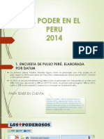 El Poder en El Peru 2014